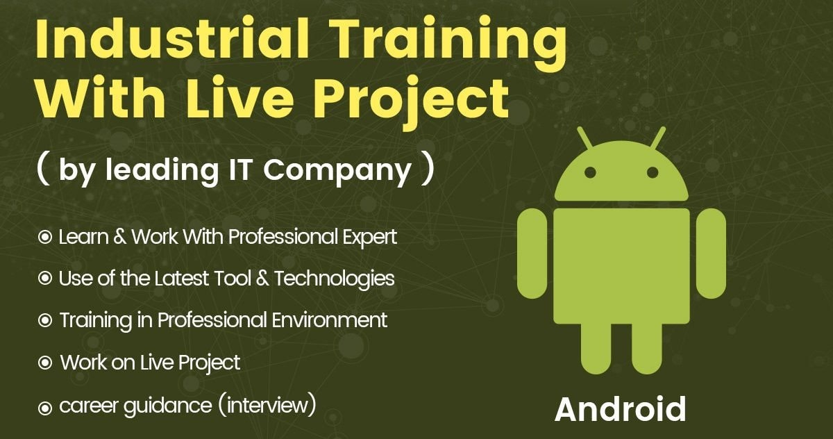 live project training android